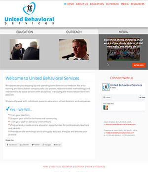 United Behavioral Services, Home Page